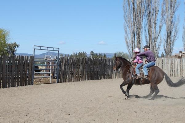 Double Riding Lesson